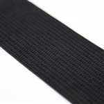 "Black Luxe Elastic - 3 1/8"" Wide"