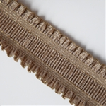 "Gold Ruffle Elastic - 2 1/4"" Wide"