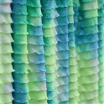 Mermaid Tie-Dye Ruffle Fabric