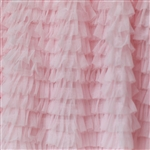 "Pink ""Layers of Luxe"" Pleated Tulle Ruffle"