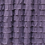 Purple Haze Boho Chic 2 Inch Ruffle Fabric