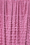 Rose Quartz Crescendo Ruffle Fabric