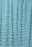 Sea Glass Crescendo Ruffle Fabric