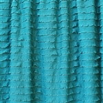 Laguna Blue Mini Ruffle Fabric