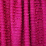 Wild Pink Mini Ruffle Fabric