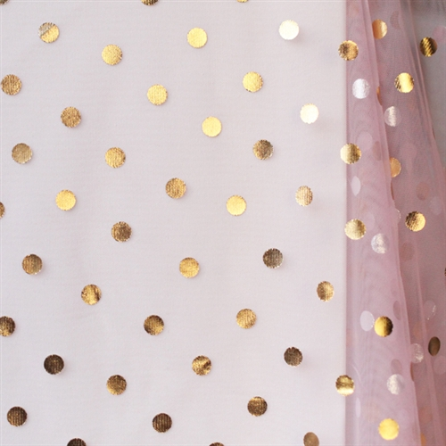tulle confetti dot collection