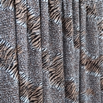 """Untamed Tiger"" -  Ruffles and Ridges Ruffle Fabric"