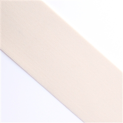 "Cream Elastic, 2 1/4"" Wide"