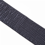 "Dark Gray Ripple Elastic - 3"" Wide"