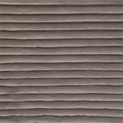 Weathered Walnut Smooth Knit Ruffle Fabric