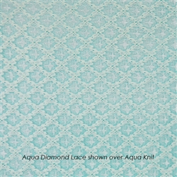 Aqua Diamond Lace