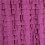 Radiant Orchid 2 Inch Ruffle Fabric