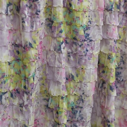 """Wildflower"" 2 Inch Ruffle Fabric"