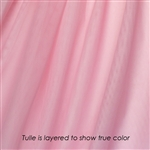 Perfect Pink Tulle - Confetti Dot Collection by Ruffle Fabric