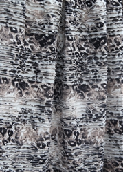 """Wild Cat"" - Ruffles and Ridges Ruffle Fabric"